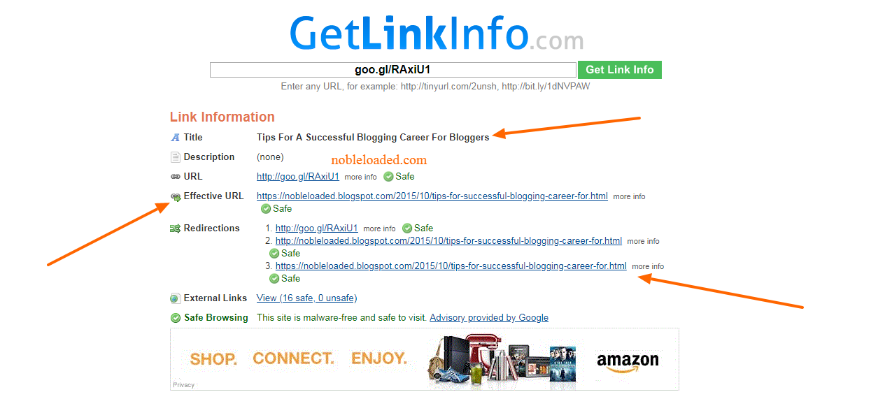 Check Short URL- Know What Is Behind A Shortened Domain URL